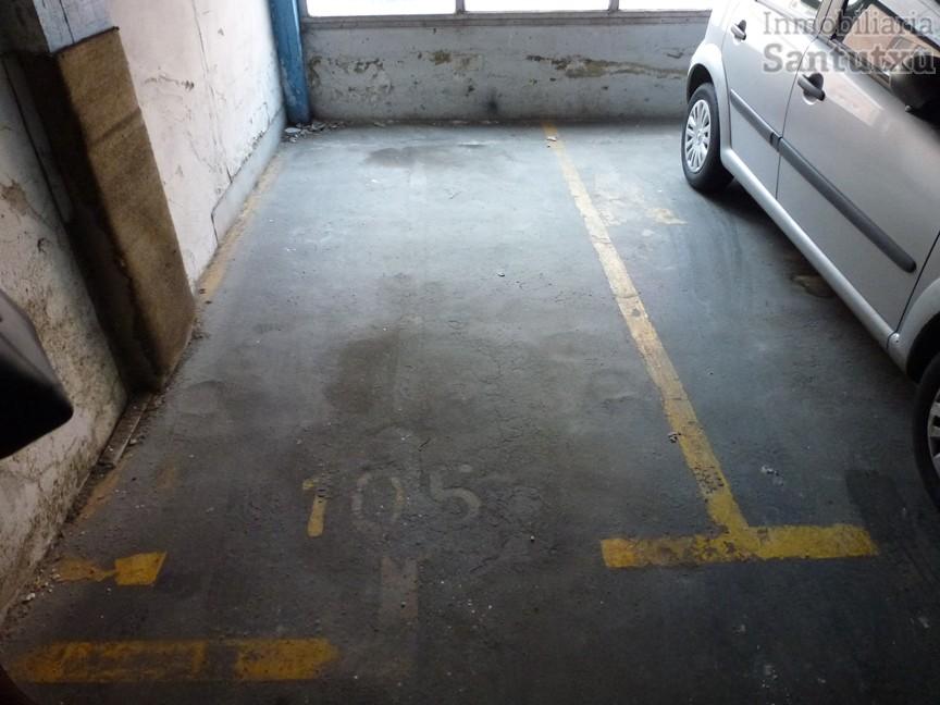 Parcela de garaje en la Plaza del Carmen